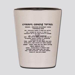 Common Gaming Terms Shot Glass