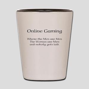 Online Gaming Shot Glass