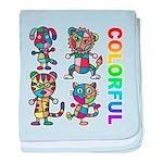 kuuma colorfulall 3 baby blanket
