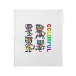 kuuma colorfulall 3 Throw Blanket