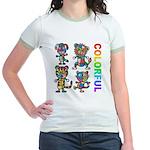 kuuma colorfulall 3 Jr. Ringer T-Shirt