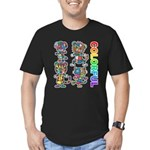 kuuma colorfulall 3 Men's Fitted T-Shirt (dark)
