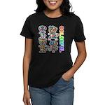 kuuma colorfulall 3 Women's Dark T-Shirt