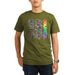 kuuma colorfulall 3 Organic Men's T-Shirt (dark)
