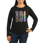 kuuma colorfulall 3 Women's Long Sleeve Dark T-Shi