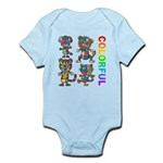 kuuma colorfulall 3 Infant Bodysuit