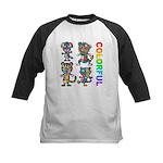 kuuma colorfulall 3 Kids Baseball Jersey