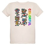 kuuma colorfulall 3 Organic Kids T-Shirt