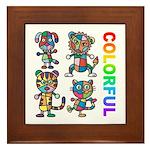 kuuma colorfulall 3 Framed Tile