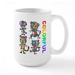 kuuma colorfulall 3 Large Mug
