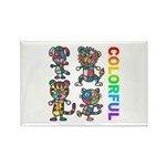 kuuma colorfulall 3 Rectangle Magnet (10 pack)