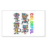 kuuma colorfulall 3 Sticker (Rectangle)