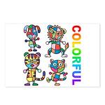 kuuma colorfulall 3 Postcards (Package of 8)