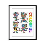 kuuma colorfulall 3 Framed Panel Print