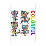 kuuma colorfulall 3 Mini Poster Print