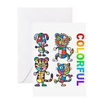 kuuma colorfulall 3 Greeting Card