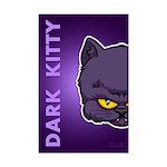 Dark Kitty Mini Poster Print