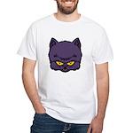 Dark Kitty White T-Shirt