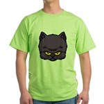 Dark Kitty Green T-Shirt