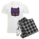 Dark Kitty Men's Light Pajamas