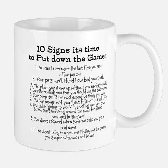 Put down the game! Mug