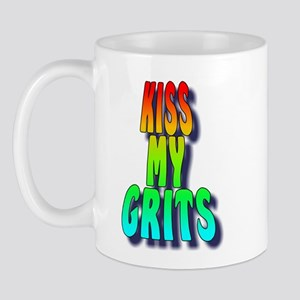 Kiss My Grits Mug