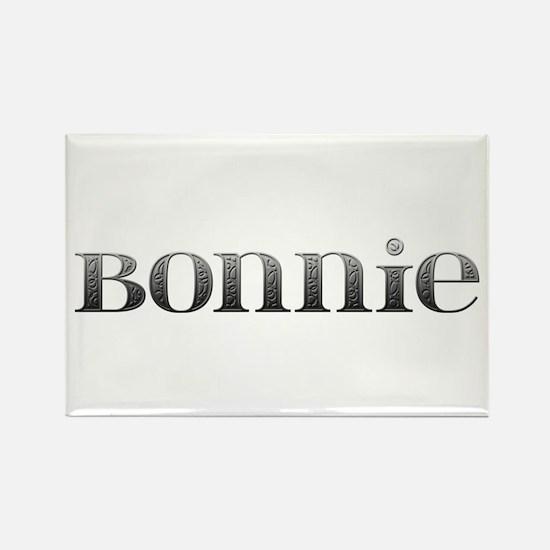 Bonnie Carved Metal Rectangle Magnet