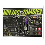 Ninjas vs. Zombies Small Poster