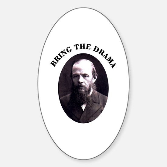 Bring the Drama Oval Decal