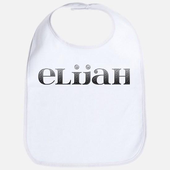 Elijah Carved Metal Bib