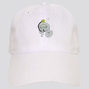 SCUBA Manatee Cap
