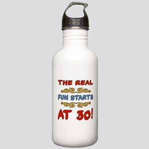 Real Fun 30th Birthday Stainless Water Bottle 1.0L