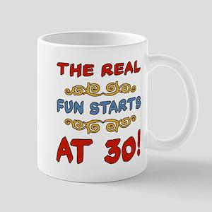 Real Fun 30th Birthday Mug