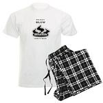 Blowing black - Men's Light Pajamas