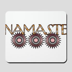 Namaste Flowers Mousepad