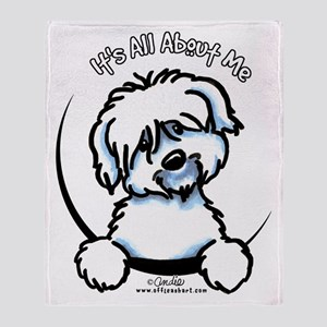 Coton de Tulear IAAM Throw Blanket