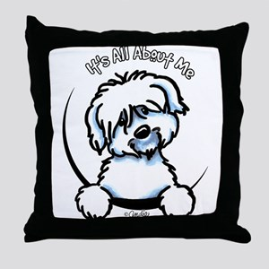 Coton de Tulear IAAM Throw Pillow