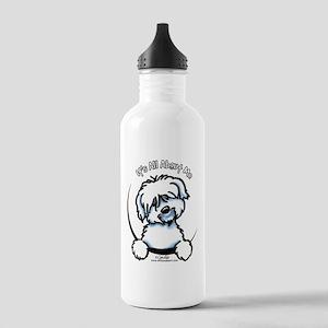 Coton de Tulear IAAM Stainless Water Bottle 1.0L