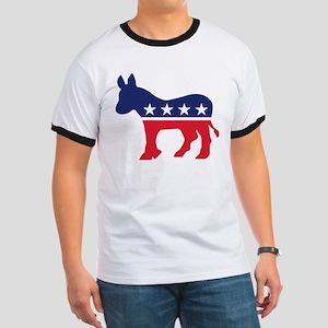 Democrat Donkey Ringer T