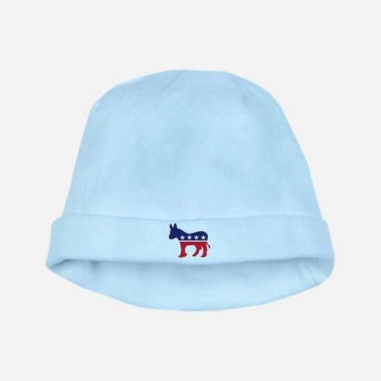 Democrat Donkey baby hat
