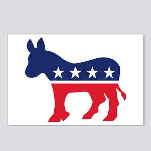 Democrat Donkey Postcards (Package of 8)