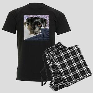 Rat Terrier Men's Dark Pajamas