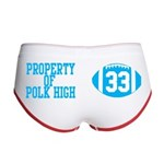 Property of Polk High Women's Boy Brief