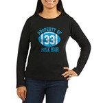Property of Polk High Women's Long Sleeve Dark T-S