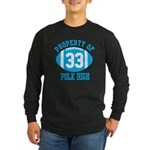 Property of Polk High Long Sleeve Dark T-Shirt
