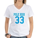 Polk High Women's V-Neck T-Shirt