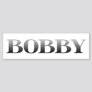 Bobby Carved Metal Bumper Sticker
