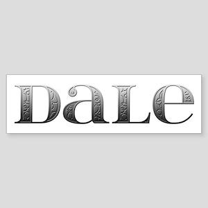 Dale Carved Metal Bumper Sticker