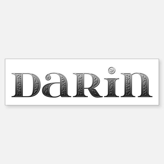 Darin Carved Metal Bumper Bumper Bumper Sticker
