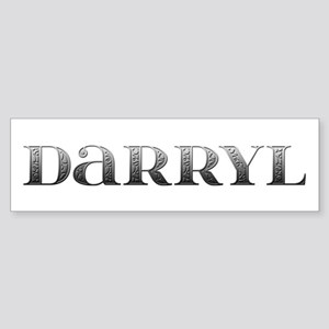 Darryl Carved Metal Bumper Sticker